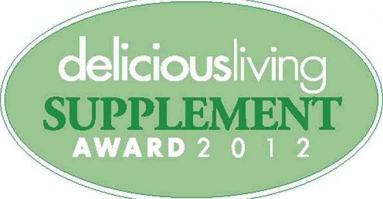 Delicious Living's 2012 Supplement Awards winners