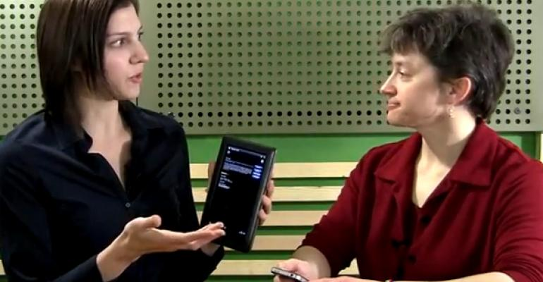 Video: Using the Expo West/Engredea 2012 mobile app