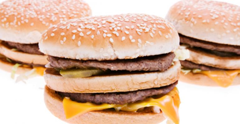 Organic shoppers still eat a lot of fast food