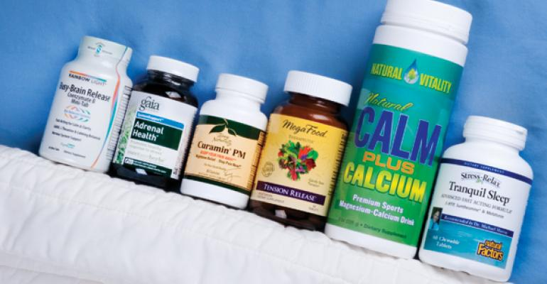 Shoppers seek natural remedies for stress and sleep