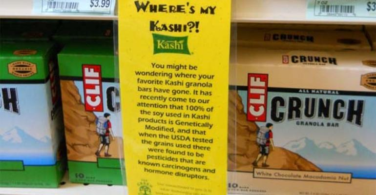 The Green Grocer's viral photo sparks Kashi GMO controversy