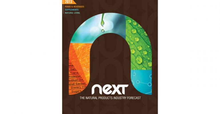 NEXT Report: The Natural Products Industry Forecast 2013