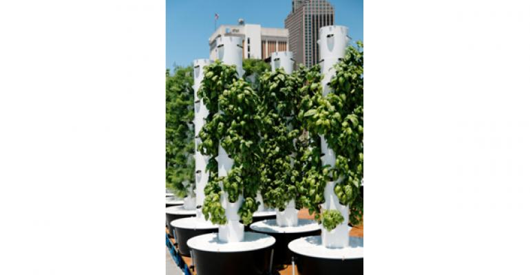 Rouses Markets' rooftop garden catches air