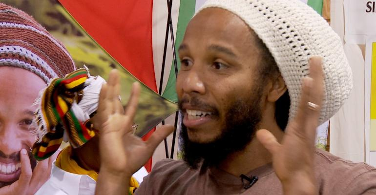 Falling in love with Ziggy Marley—and his new line of coconut oils
