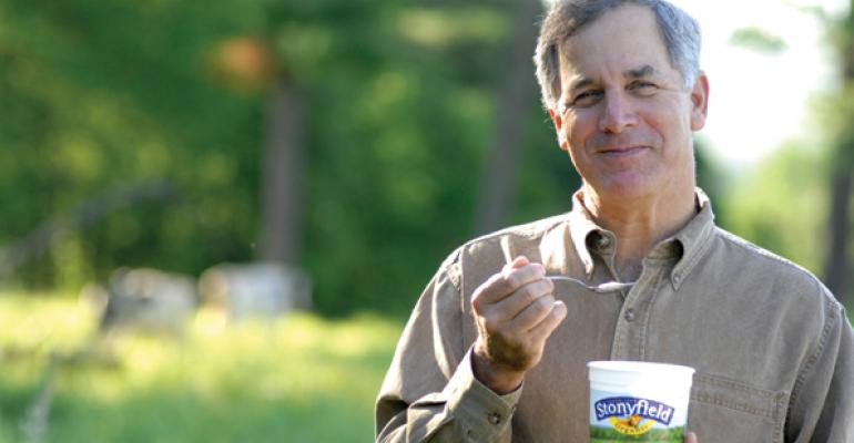 Stonyfield's Gary Hirshberg takes reins of Just Label It campaign