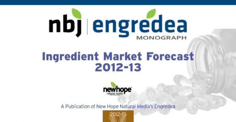 NBJ/Engredea Monograph: Ingredient Market Forecast Edition