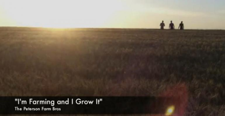 Farmers go viral with 'I'm Farming and I Grow It' video