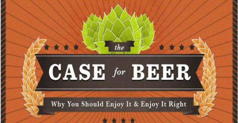 Infographic: Educate shoppers on beer's brain, bone and tasty benefits