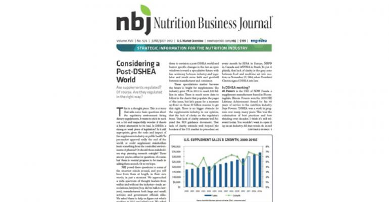 Meal replacements bounce back with banner year after 2010 sales slide