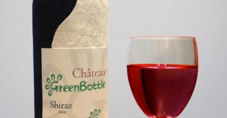 Would you buy wine packaged in paper instead of glass?