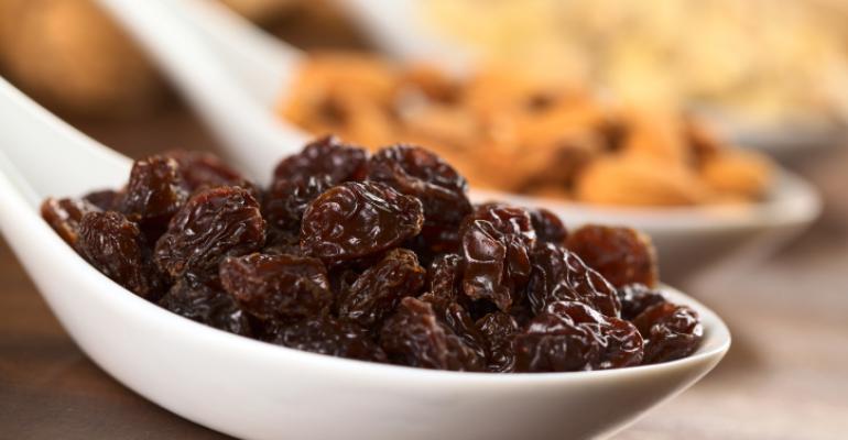 I heard it through the grapevine: raisins as good as energy chews