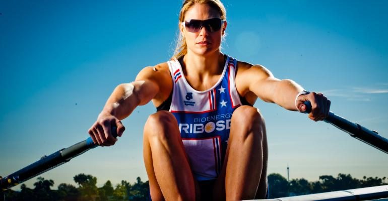 Olympic gold medalist swears by her supplement routine