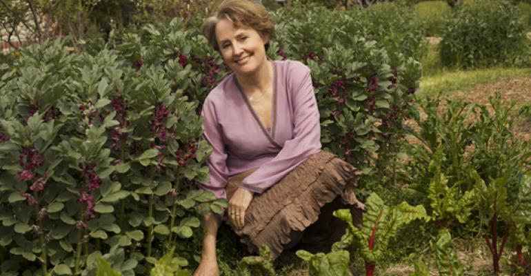 Stop chasing food trends: Q&A with Alice Waters