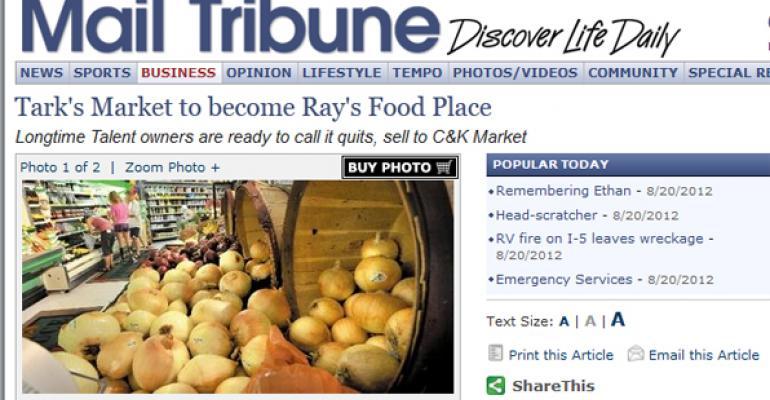 Independent Oregon grocer sells to C&K Market