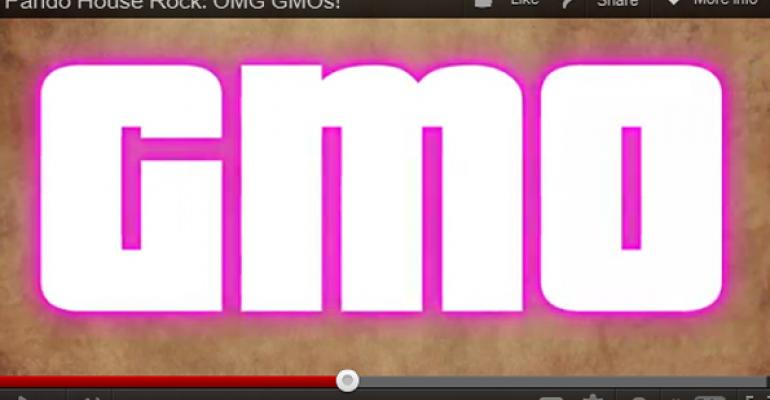 OMG, it's a GMO rap video!