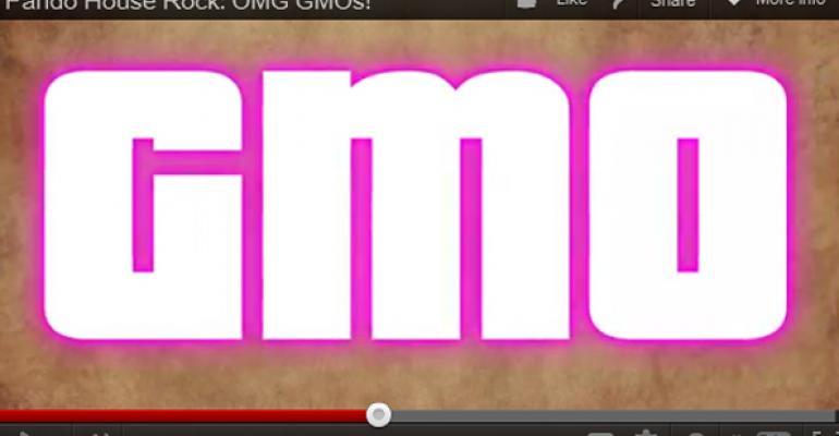 OMG, it's a GMO rap video!