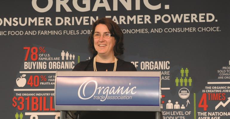 Does organic need a campaign like 'Got Milk?'