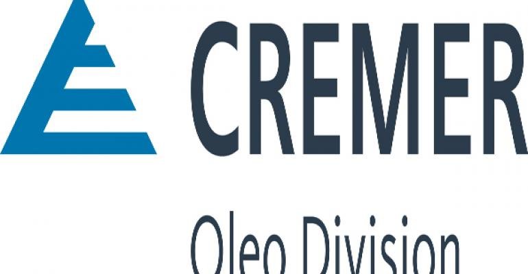Cremer Oleo gets F&S nod for exceptional product line