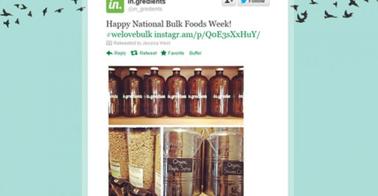 Social-able: Celebrate National Bulk Food Week in your store
