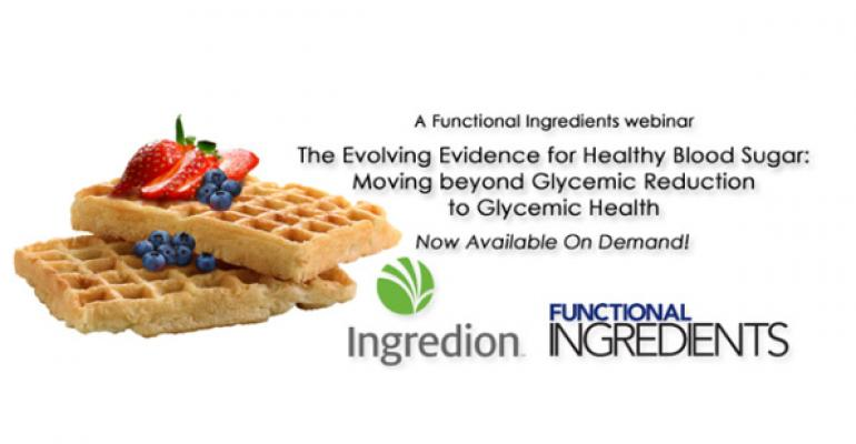 WEBINAR: The Evolving Evidence for Healthy Blood Sugar: Moving beyond Glycemic Reduction to Glycemic Health