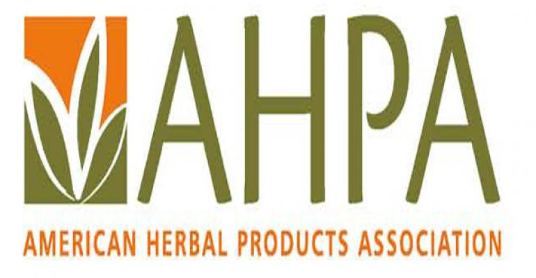 AHPA comments on Health Canada's TCM draft monograph