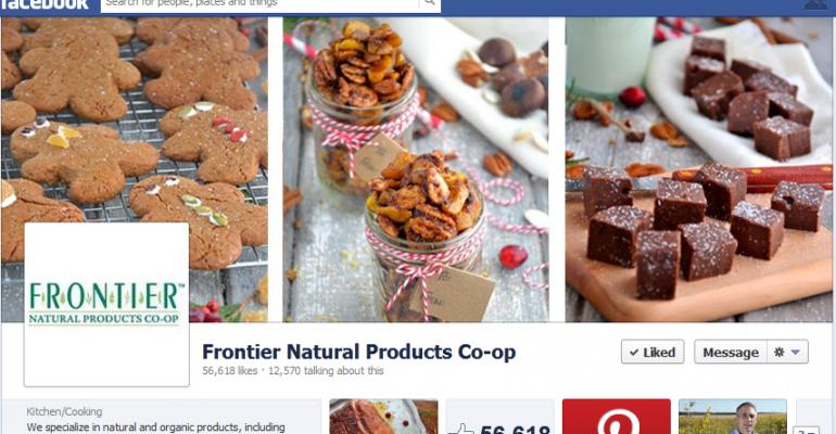 Social-able: Frontier Natural Products Co-op gets chatty on Facebook