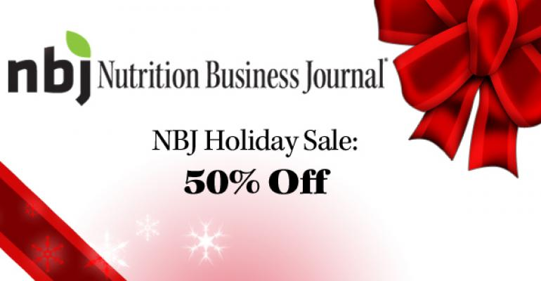 Nutrition Business Journal's End of the Year Sale!