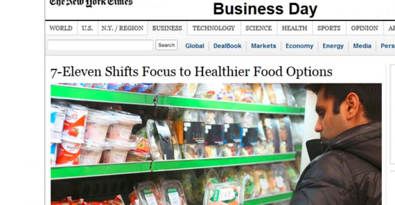 7-Eleven offers more quick and healthy options