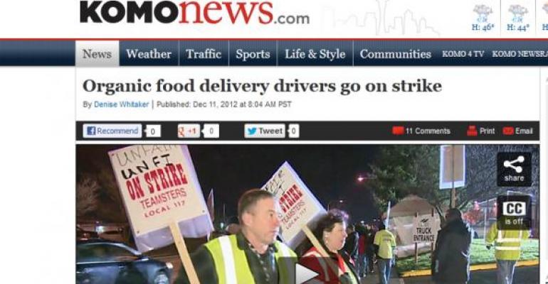 Washington UNFI drivers to return to work