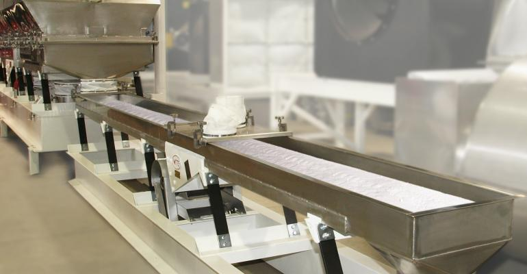 Witte sanitary vibratory conveyors protect particle integrity