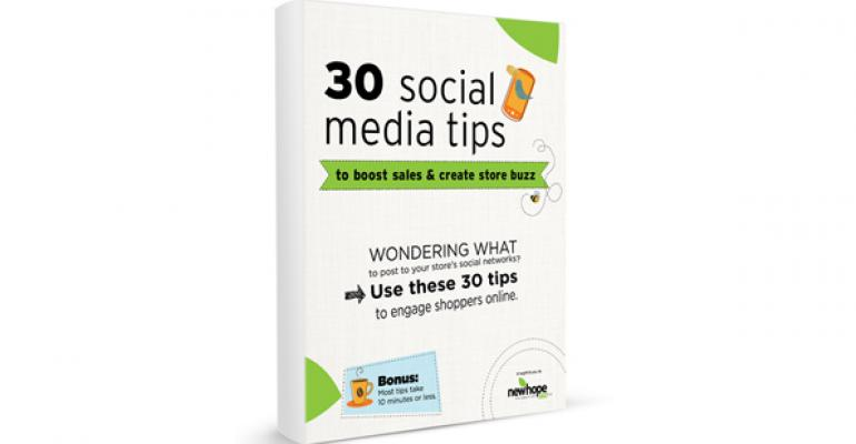Free downloadable toolkit: 30 social media tips to boost store sales