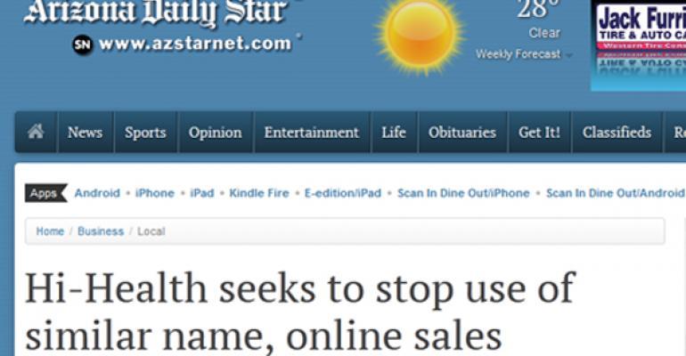 Arizona's Hi-Health confronts supplement seller i-Health