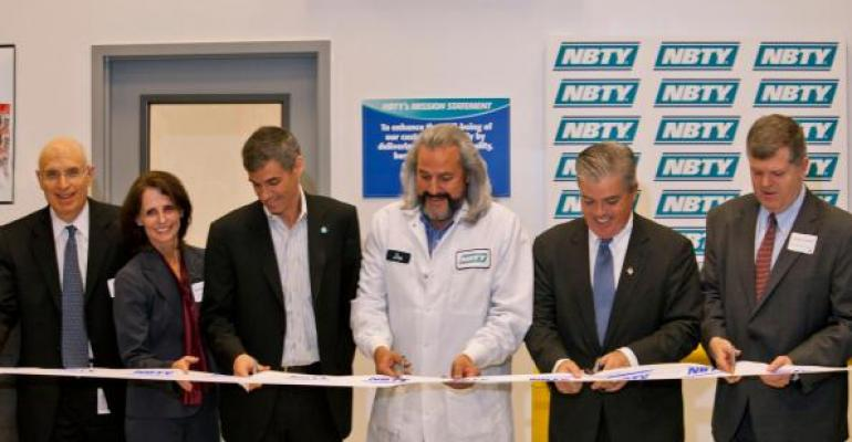 Nutritional supplement company NBTYs new plant