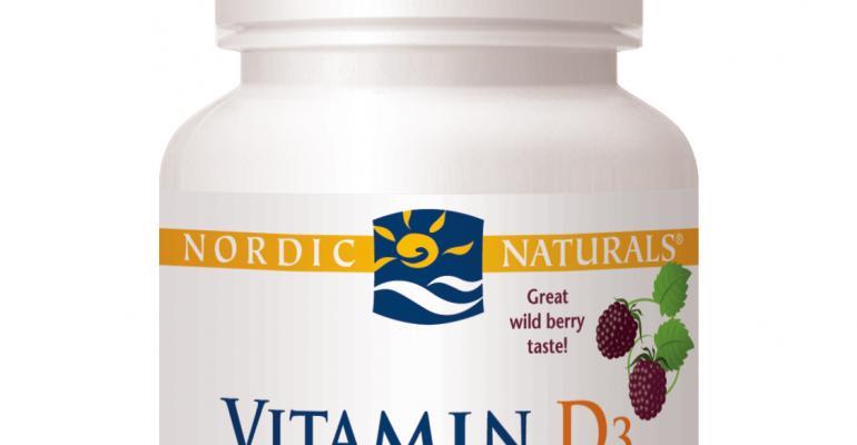 Nordic Naturals introduces Vitamin D3 Gummies