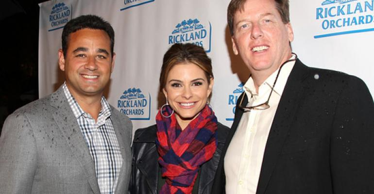 Rickland Orchards partners with Maria Menounos, Nordic Naturals adds vegan D3, Lucky's Market expands and more natural news