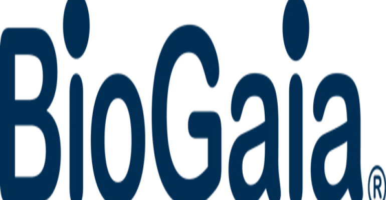 BioGaia reports earnings increase in 2012