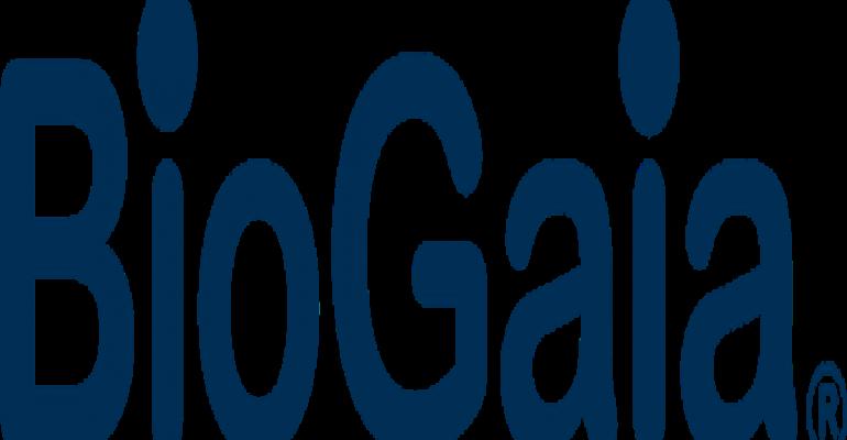BioGaia reports earnings increase in 2012