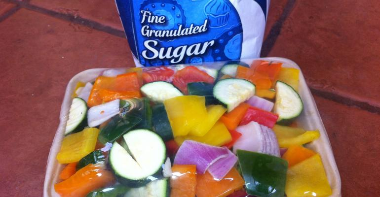 A spoonful of sugar helps the veggies go down