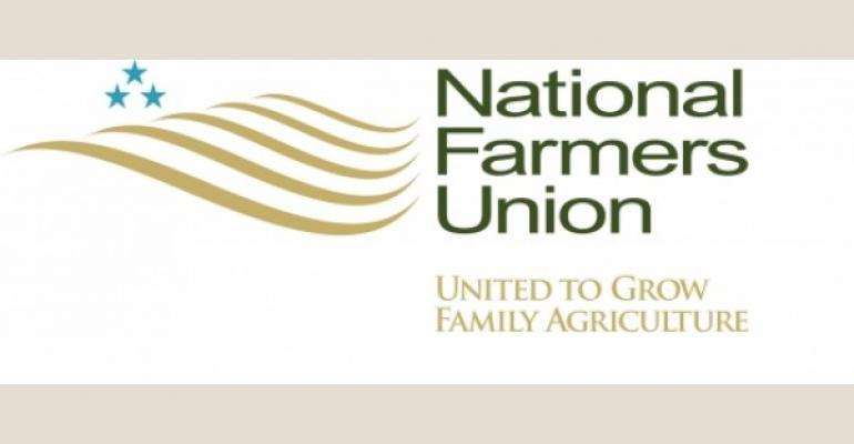 National Farmers Union supports raw milk