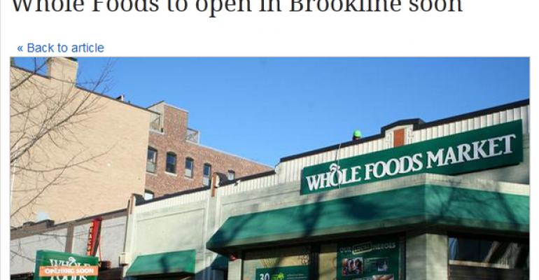 Smallest Whole Foods Market to debut