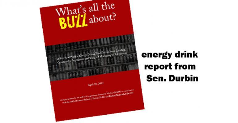 Congressmen release energy drink report
