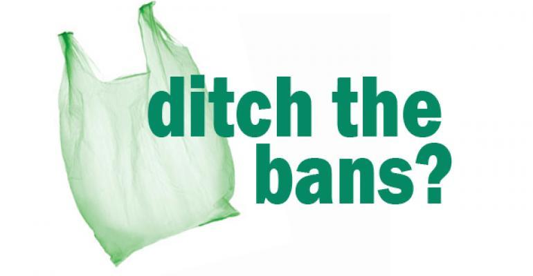 Texas bill would ban plastic bag bans