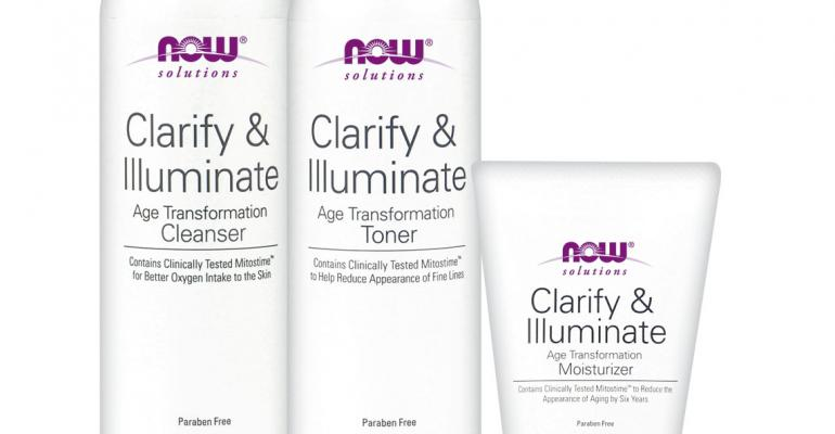 NOW Solutions debuts anti-aging skin care line