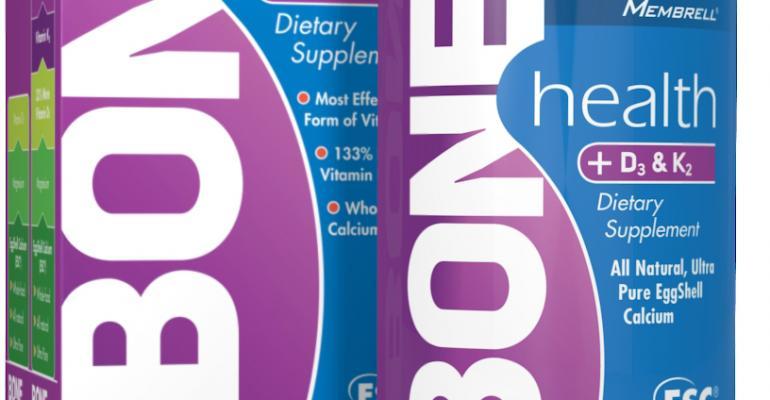 Membrell introduces BONEhealth Plus D3 & K2