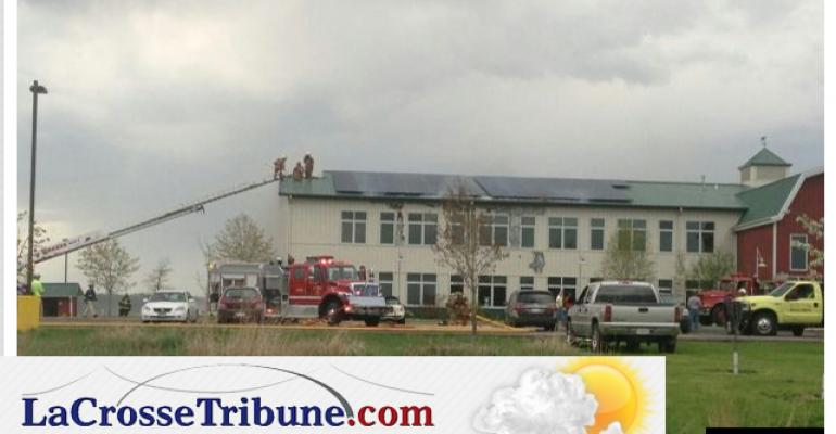 Fire damages Organic Valley headquarters
