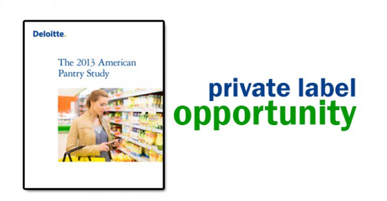 Consumers gravitate to private label
