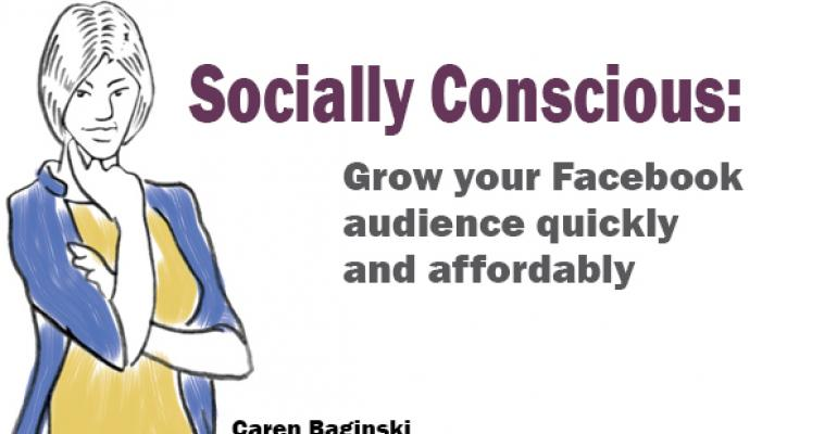 How to grow your Facebook audience with low-cost ads