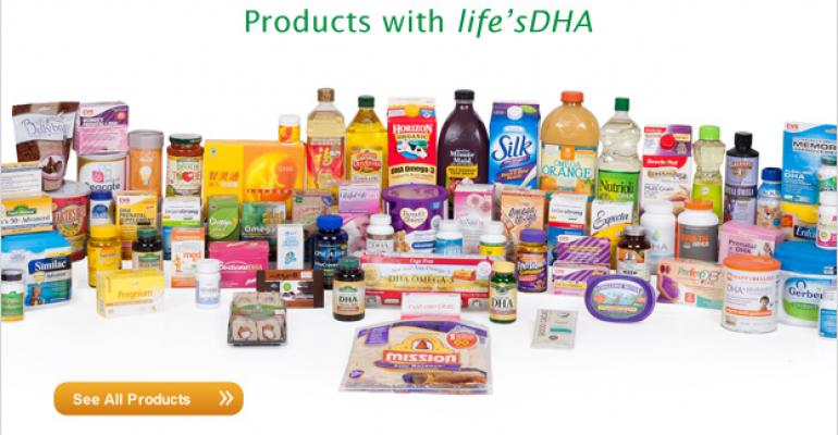 Consumer products containing life39sDHA fish oil ingredient