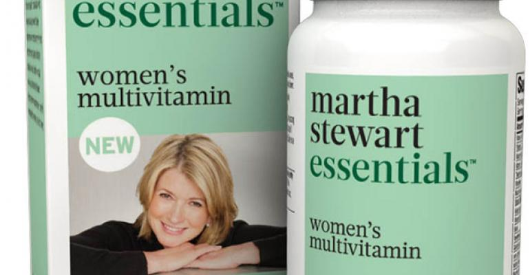 Martha Stewart launches wholefood supplements