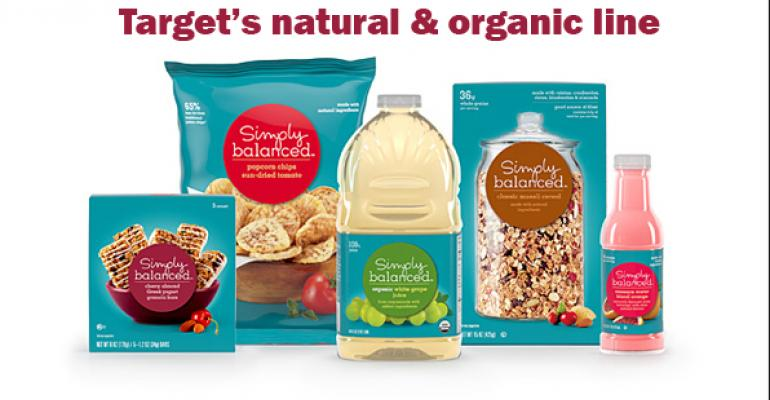 Target sets sights on natural and organic private label